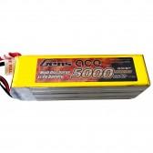 Gens Ace 60C 5000mah 6S1P 22.2V Battery Pack-Gold
