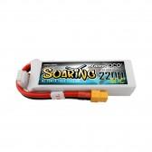 Gens ace Soaring 2200mAh 14.8V 30C 4S1P Lipo Battery Pack with XT60 plug