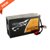 Tattu 26000mAh 22.2V 25C 6S1P Lipo Battery Pack with AS150+XT150