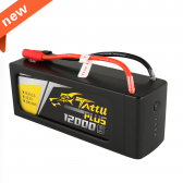 Tattu Plus 12000mAh 22.2V 15C 6S1P Lipo Battery Pack