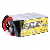 TATTU R-line 1800mAh 14.8V 95C 4S1P Lipo Battery Pack with XT60 Plug