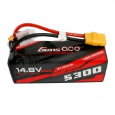 Gens ace 5300mAh 14.8V 60C 4S1P HardCase 12# car Lipo Battery pack with XT90