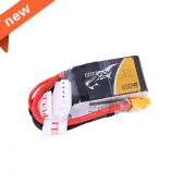 Tattu 450mAh 3S1P 11.1V 75C Lipo Battery Pack with XT30