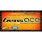 Gens ace banner 4m black/green