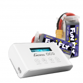 Tattu Funfly 1550mAh 3S1P (2pcs) + Imars III Smart Balance RC Battery Charger Bundle