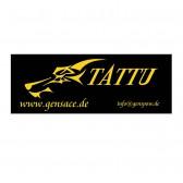 Tattu banner 4m black/yellow