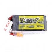 Tattu R-Line 850mAh 95C 14.8V 4S1P Lipo Battery Pack with XT60 Plug