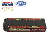 Gens ace Redline Series 5800mAh 7.6V 130C 2S1P HardCase 56# HV Ultra LCG LiPo Battery