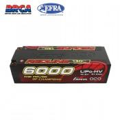 Gens ace Redline Series 6000mAh 15.2V 130C 4S1P HardCase 59# HV Ultra LCG LiPo Battery