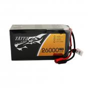 Tattu 26000mAh 22.2V 25C 6S1P Lipo Battery Pack with AS150+XT150