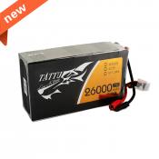 Tattu 26000mAh 22.2V 25C 6S1P Lipo Battery Pack