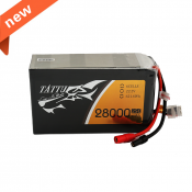 Tattu 28000mAh 22.2V 25C 6S1P Lipo Battery Pack with AS150+XT150