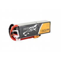 TATTU 1800mAh 14.8V 45C 4S1P Lipo Battery Pack with XT60
