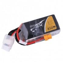 Tattu 850mAh 14.8V 75C 4S1P Lipo Battery Pack with XT60