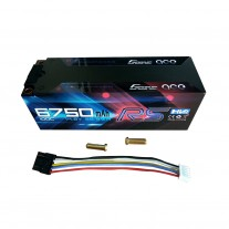 Gens ace 6750mAh 14.8V High Voltage100C 4S1P HardCase Lipo 50#