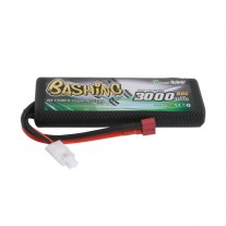 Gens ace Bashing Series 3000mAh 2S1P 7.4V 50C HardCase 8# LiPo Battery Pack with T-Plug