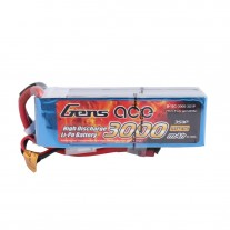 Gens ace 3000mAh 3S 11.1V 15C Lipo Battery Pack with T plug