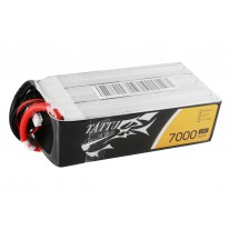 Tattu Lipo 6S 7000mAh 22.2V 25C Battery pack with XT90