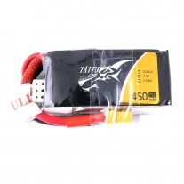 Tattu 450mAh 2S 75C 7.4V Lipo Battery Pack with XT30 Plug