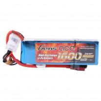 Gens Ace 1600mAh 11.1V 40C 3S1P Lipo Battery Pack