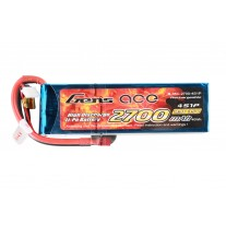 Gens ace 2700mAh 14.8V 35C 4S1P Lipo Battery Pack
