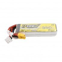 Tattu R-Line 550mAh 7.4V 2S1P 95C Lipo Battery