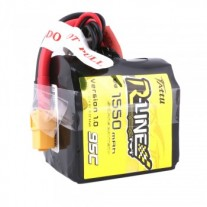 Tattu R-Line 1550mAh 95C 4S1P Square lipo battery pack with XT60 Plug