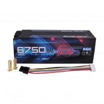 Gens ace 6750mAh 14.8V High Voltage100C 4S1P HardCase Lipo 50#