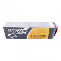 Tattu 14000MAH 22.2V 25C 6S1P Lipo Battery Pack with XT90 Plug