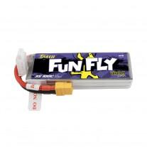 Tattu Funfly Series 1800mAh 11.1V 100C 3S1P Lipo Battery Pack with XT60 plug