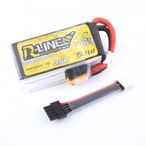 Tattu R-Line 1550mAh 95C 4S1P Lipo Battery Pack with Detachable Balance Cable for FPV Racing Drone