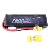 Gens ace 7600mAh 7.4V 50C 2S2P Lipo Battery with XT90 Plug