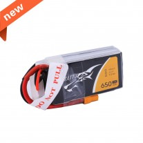Tattu 650mAh 3S1P 75C 11.1V Lipo Battery Pack