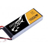 Tattu 9000mAh 14.8V 25/50C 4S1P Lipo Battery Pack with EC5