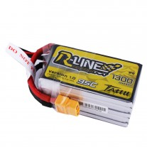 Tattu R-Line 1300mAh 95C 5S1P lipo battery pack
