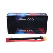 Gens ace 5500mAh 7.6V High Voltage100C 2S2P Racing Series Shorty Black HardCase Lipo59# pack with 5.0 mm Banana to T+XHR