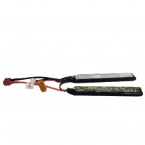 Gens Ace 25/50C 1500mAh 2S1P 7.4V Airsoft Gun Lipo Battery with T Plug