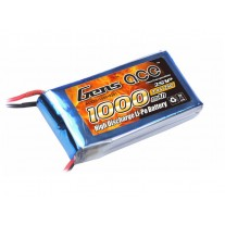 Gens ace Lipo 2S 1000mah 7.4V 25C pack with T-plug