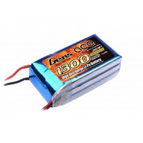 Gens ace 11.1V 25C 3S 1300mAh Lipo Battery Pack with T plug