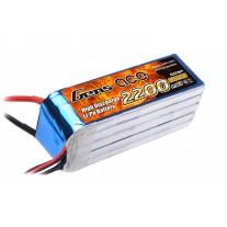 Gens ace 2200mAh 18.5V 25C 5S1P Lipo Battery Pack