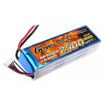 Gens ace 2500mAh 18.5V 25C 5S1P Lipo Battery Pack