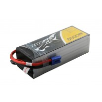 Tattu 8000mAh 22.2V 25C 6S1P Lipo Battery Pack with EC5