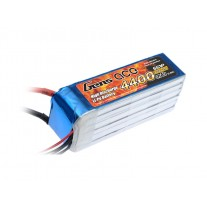 Gens ace 4400mAh 22.2V 35C 6S1P Lipo Battery Pack