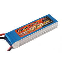 Gens ace 5000mAh 11.1V 45C 3S1P lipo battery