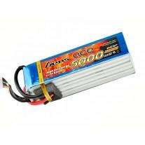 Gens ace 5000mAh 22.2V 45C 6S1P Lipo Battery Pack