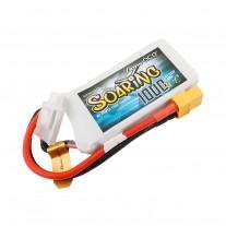 Gens ace Soaring 1000mAh 7.4V 30C 2S1P Lipo Battery Pack with XT60 plug