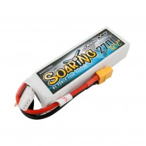 Gens ace Soaring 2700mAh 11.1V 30C 3S1P Lipo Battery Pack with XT60 plug