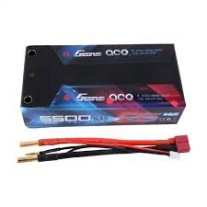 Gens ace 5500mAh 7.6V High Voltage100C 2S2P Shorty Lipo29#