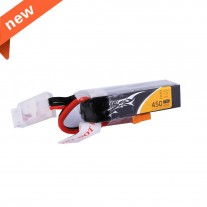 Tattu 450mAh 11.1V 75C 3S1P Lipo Battery Pack with - Long Size for H Frame
