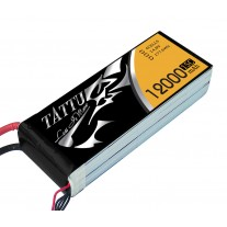 TATTU 14.8V 15/30C 4S1P  Lipo 12000mAh UAV Battery Pack